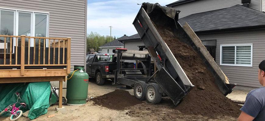 livraison top soil